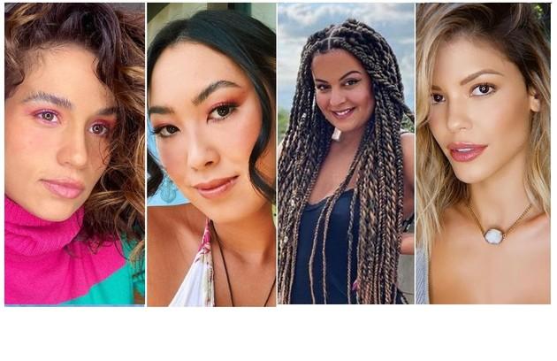 No mês do orgulho LGBTQIA+, Nanda Costa, Ana Hikari, Gabriela Loran e Vitória Strada são algumas das atrizes a falar sobre o assunto (Foto: Reprodução)