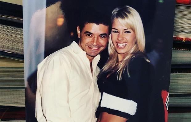 David Brazil e Adriane Galisteu (Foto: Reprodução / Instagram)