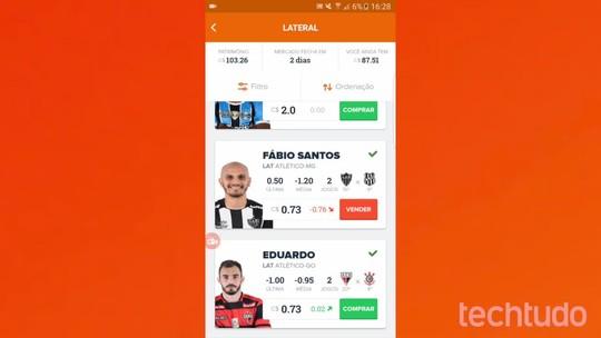 Cartola FC: como mudar escudo, uniforme e outros detalhes da sua conta