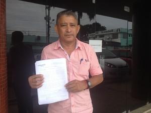 Administrador José Maria Vaz, de 56 anos, usuário da Unimed Macapá (Foto: Jorge Abreu/G1)