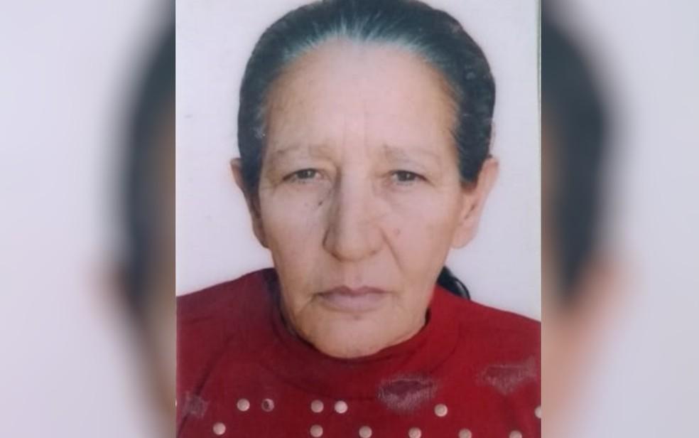 Rosália Teixeira Alves foi encontrada morta e o filho é o principal suspeito — Foto: Polícia Civil/Divulgação