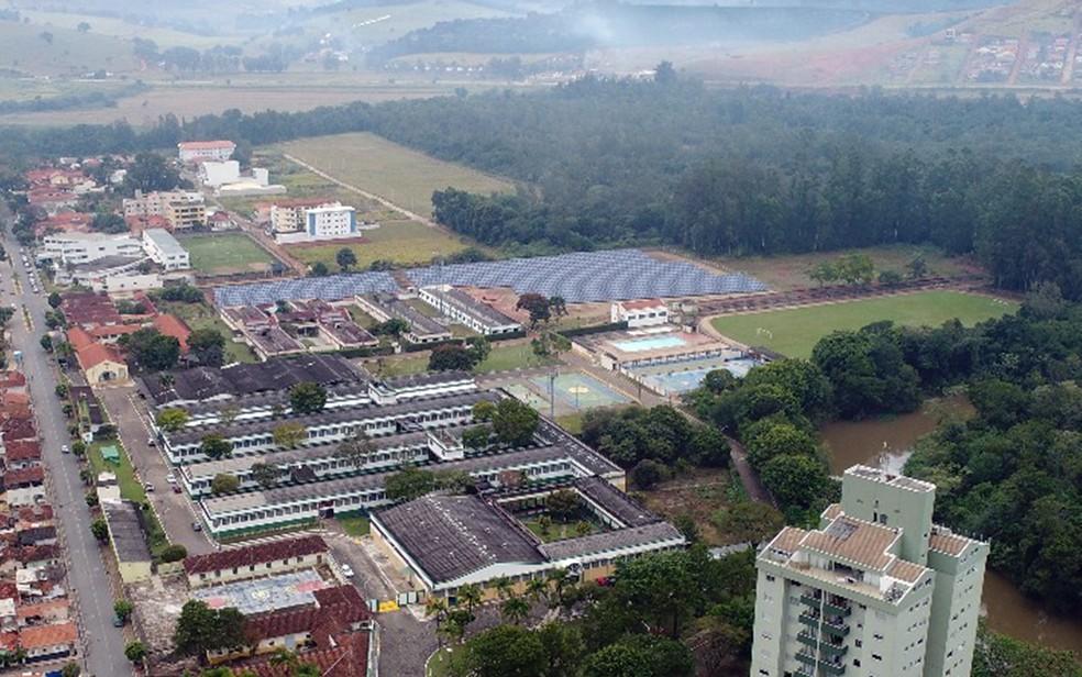 Nova usina de geração de energia solar terá capacidade para abastecer quase 900 residências (Foto: Divulgação / ETE FMC)