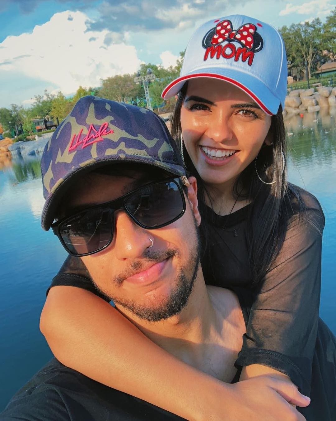 Lucas Lira e Bruna Bruna Sunaika (Foto: Reprodução / Instagram)