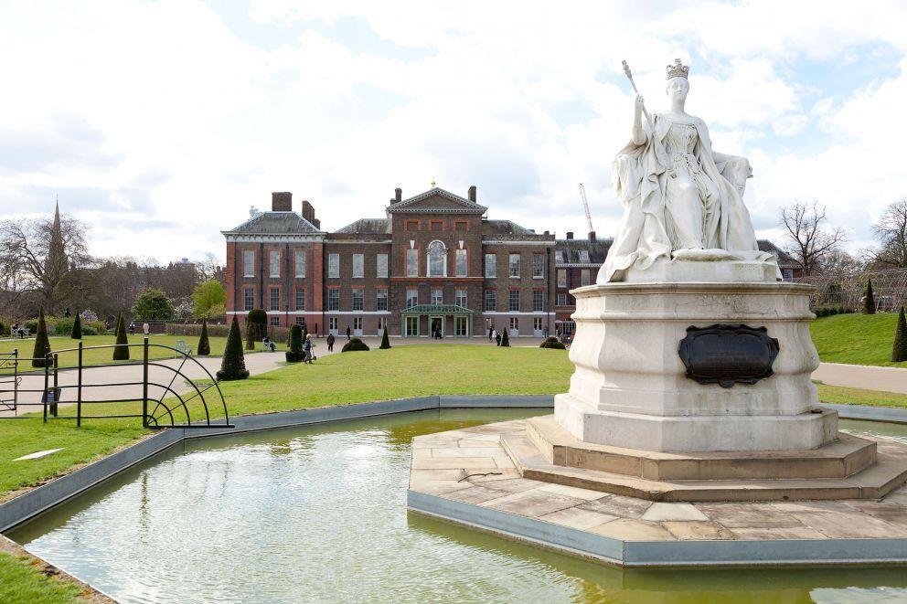 Palácio de Kensington (Foto: Twitter)