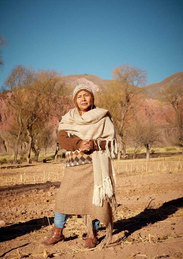 Vogue cria exposição sobre mulheres rurais da América Latina  (Foto: Cecília Duarte)