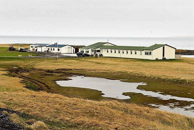 Prisão na Islândia não tranca as portas nunca (Foto: Wikimmedia commons/ Palli3000)