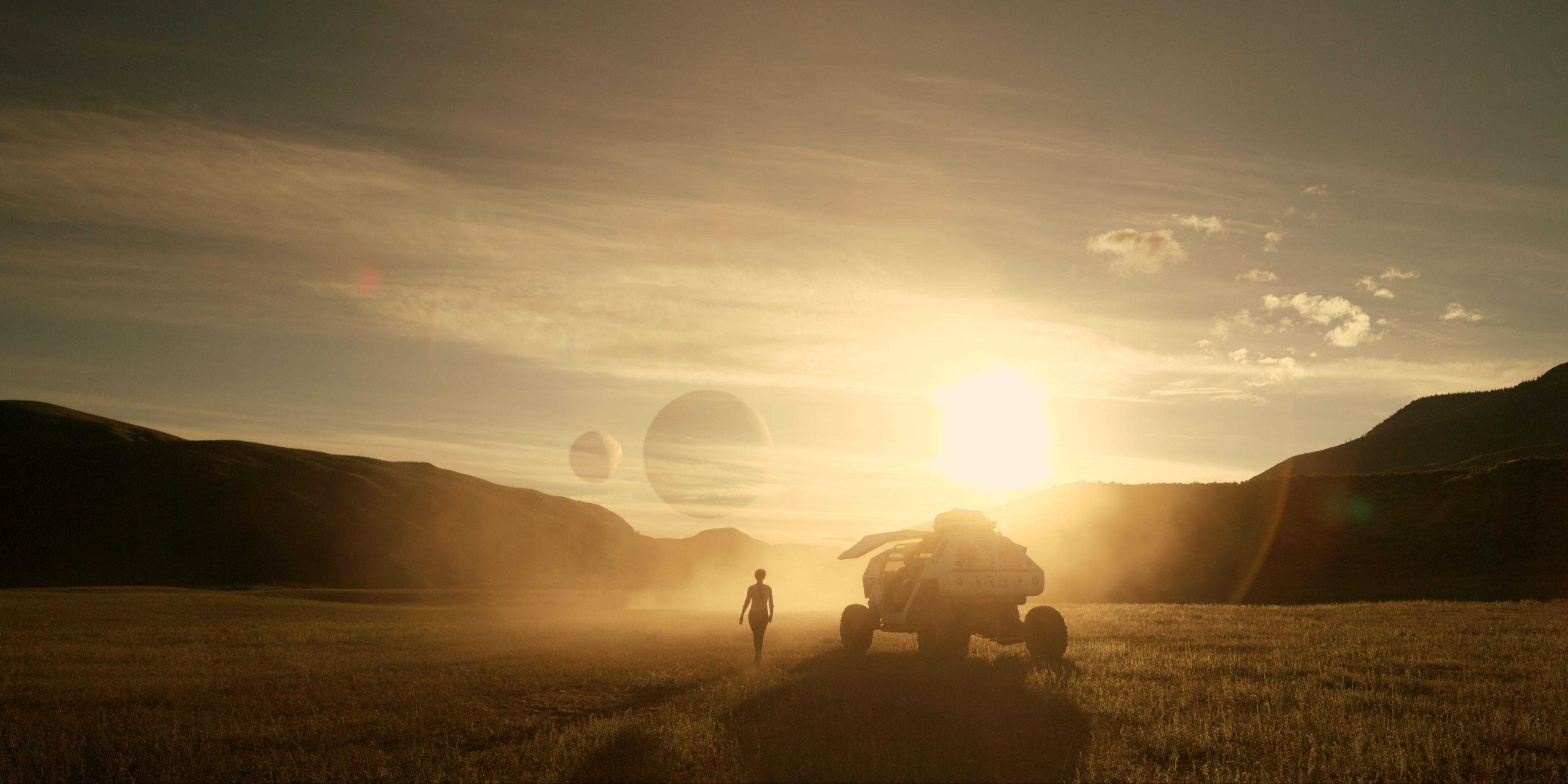 Nova versão de Perdidos no Espaço chega na Netflix em abril (Foto: Divulgação)