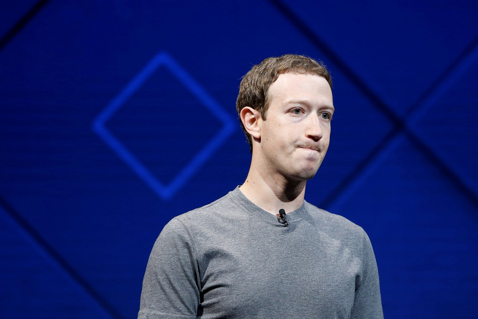 Mark Zuckerberg, CEO do Facebook. — Foto: Reuters/Stephen Lam