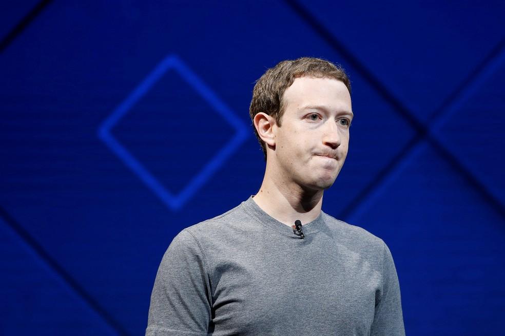 Mark Zuckerberg, CEO do Facebook. Revelações podem impactar negativamente a imagem da empresa. — Foto: Reuters/Stephen Lam