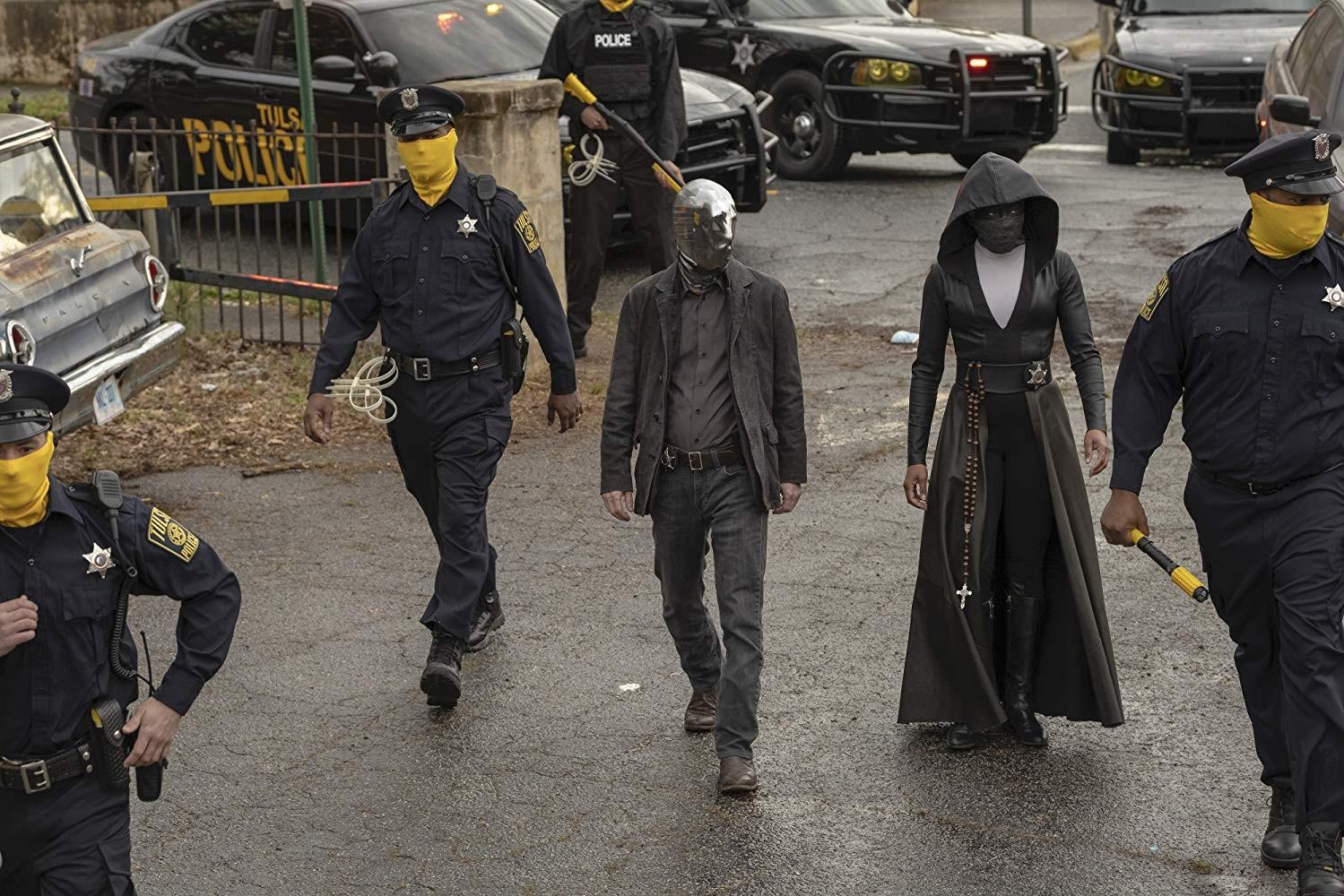 'Watchmen' moderniza universo da HQ ao discutir tensão racial em grande começo de série; G1 já viu - Notícias - Plantão Diário