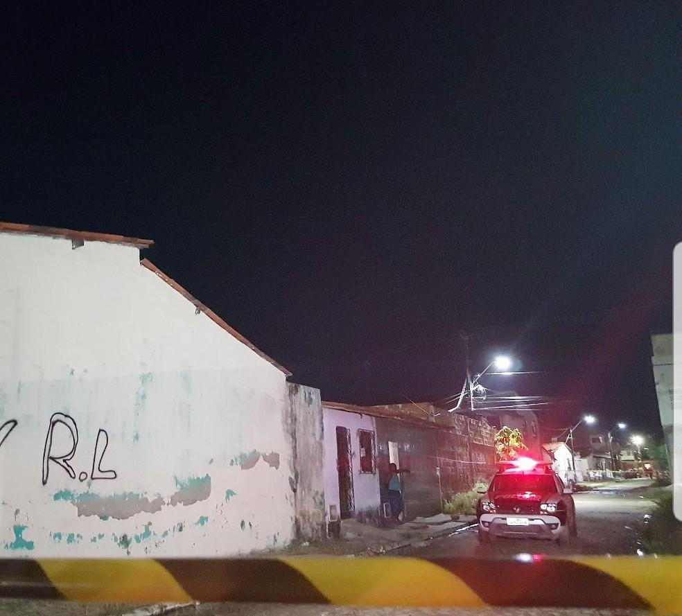 Vítima era usuário de drogas e não tinha antecedentes criminais. — Foto: Rafaela Duarte/ Sistema Verdes Mares