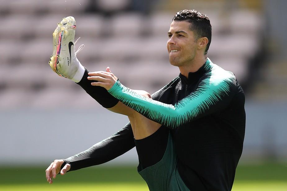 """Antes de terceira final com Portugal, Cristiano Ronaldo diz: """"Segredo é a minha preparação"""""""
