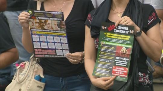 Servidores de várias categorias aderem a paralisação no Sul de Minas