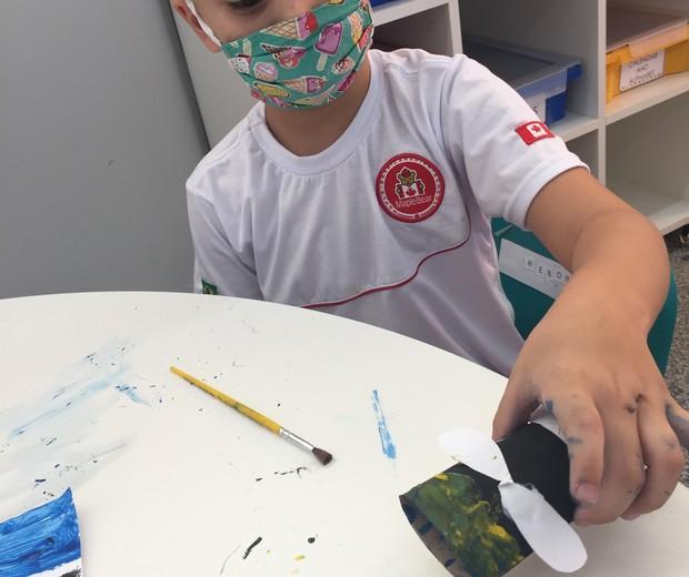 Alunos com mais de dois anos devem usar máscara na Marple  (Foto: Divulgação)