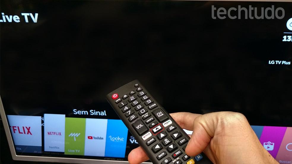 Smart TV LG: como gravar programas no pen drive ou HD