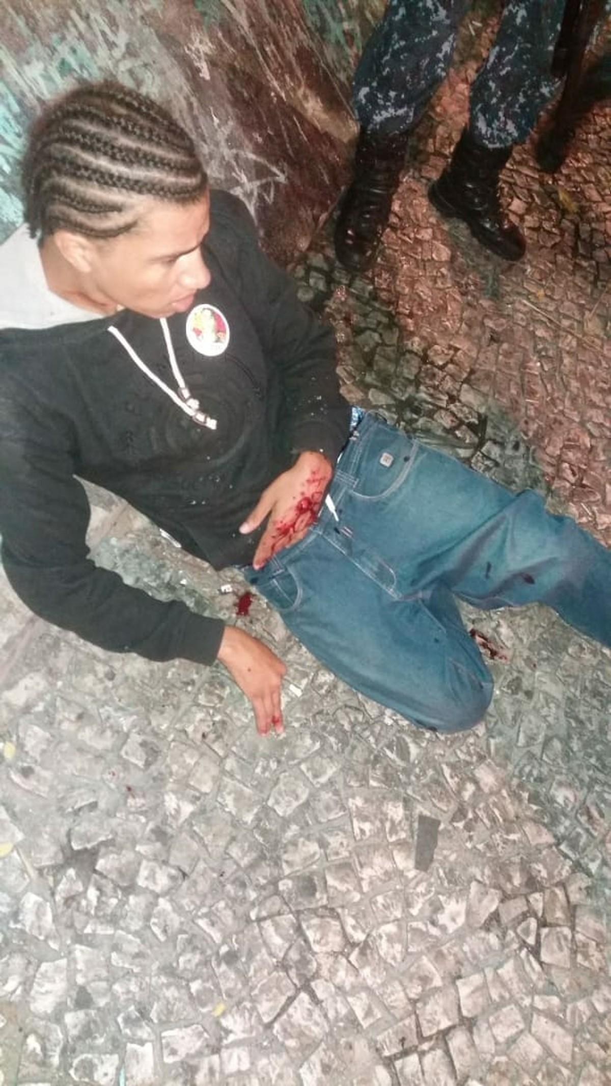 """Foto da matéria """"Candidato a deputado estadual no Paraná é atingido por bala de borracha em Curitiba"""""""