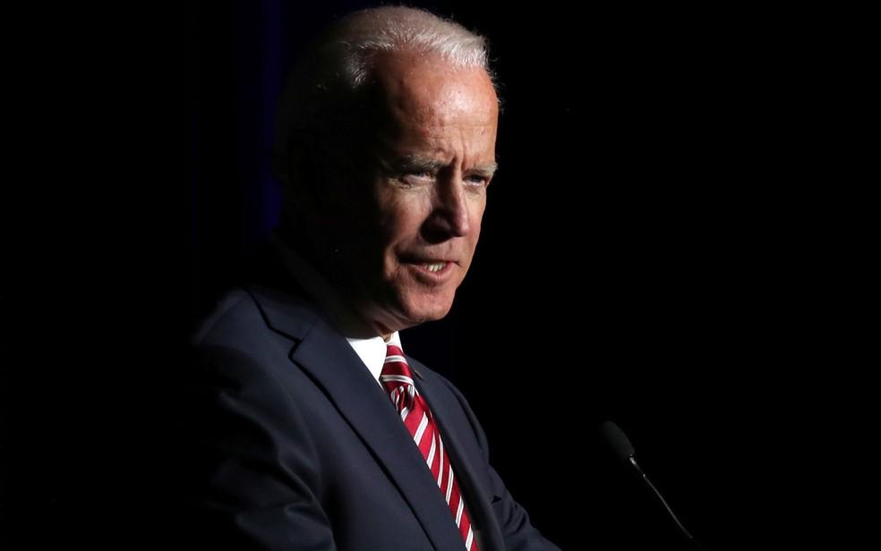 Joe Biden foi vice-presidente de Barack Obama entre 2009 e 2017 — Foto: Reuters/Jonathan Ernst