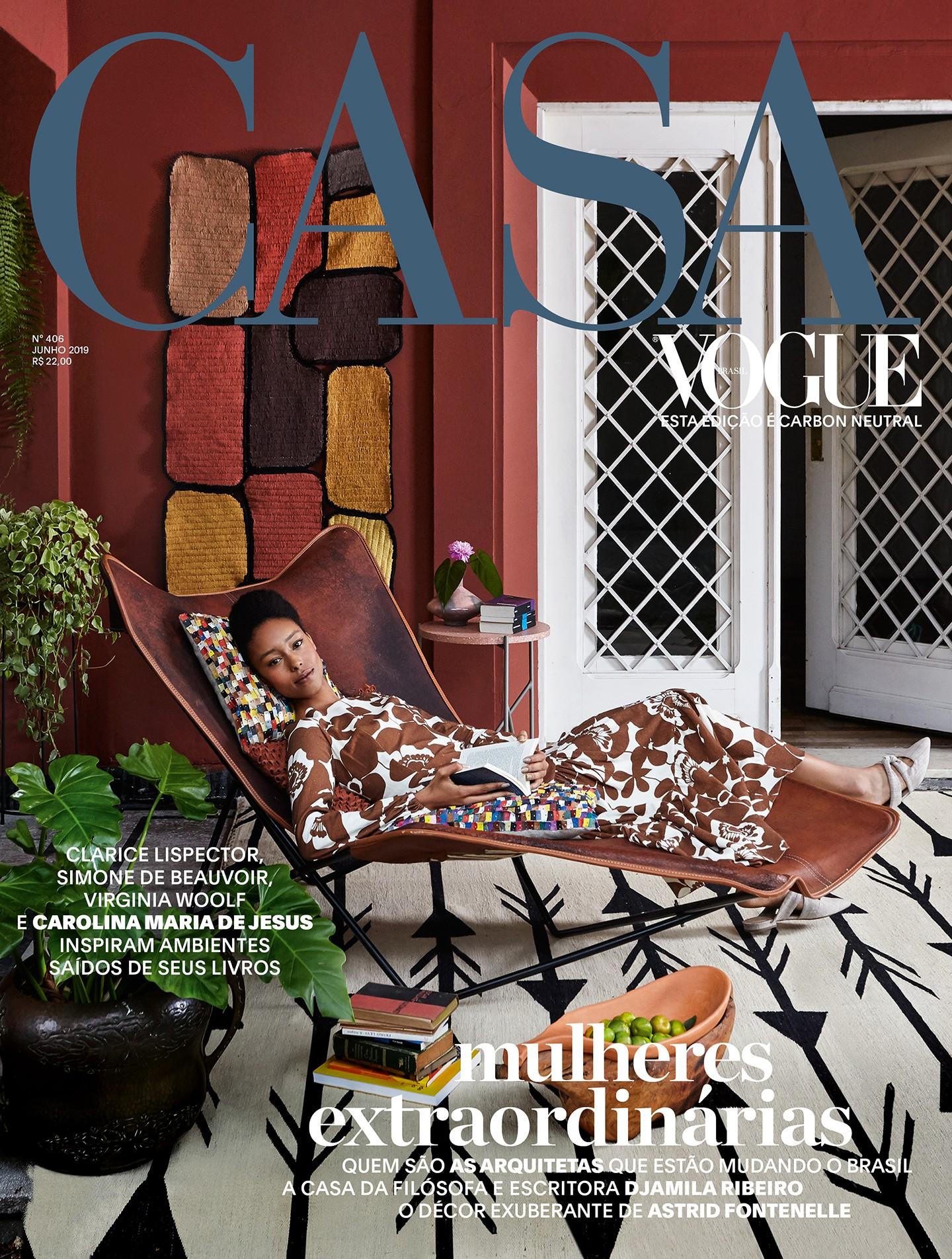 Capa Casa Vogue edição 406 (Foto: Ilana Bessler)