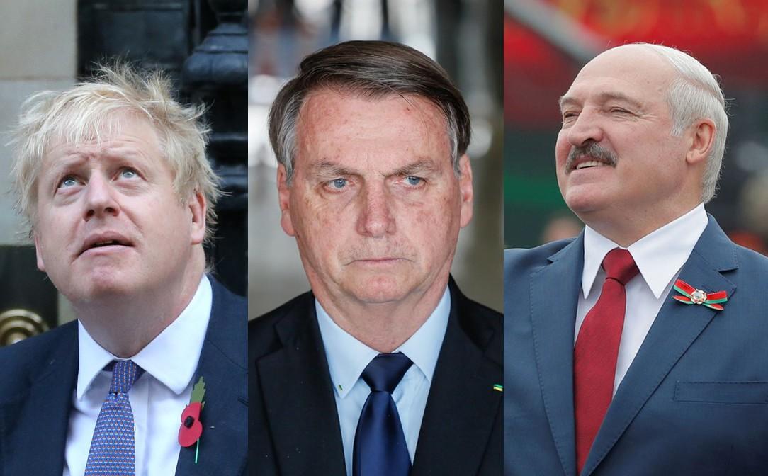 Bolsonaro, Johnson, Lukashenko: veja líderes mundiais que foram infectados com coronavírus