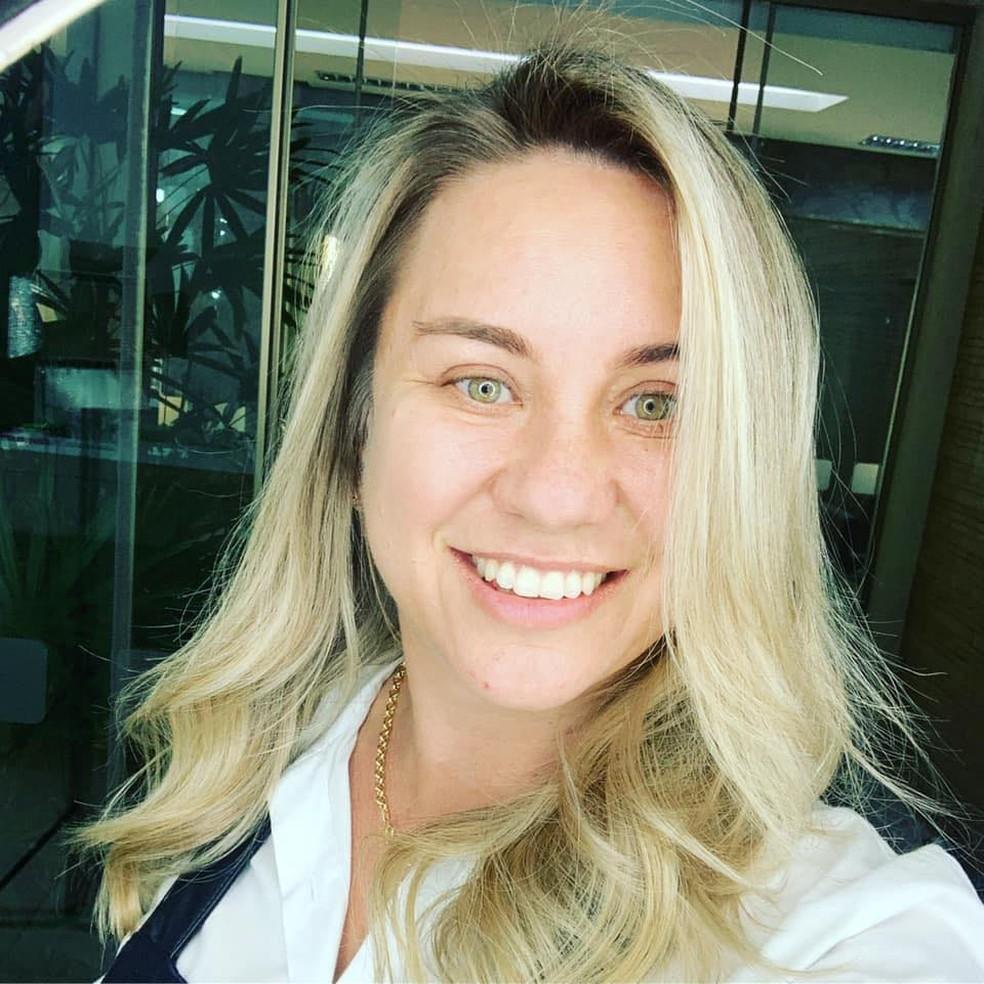 Fabiana é candidata em Ribas do Rio Pardo — Foto: Redes sociais