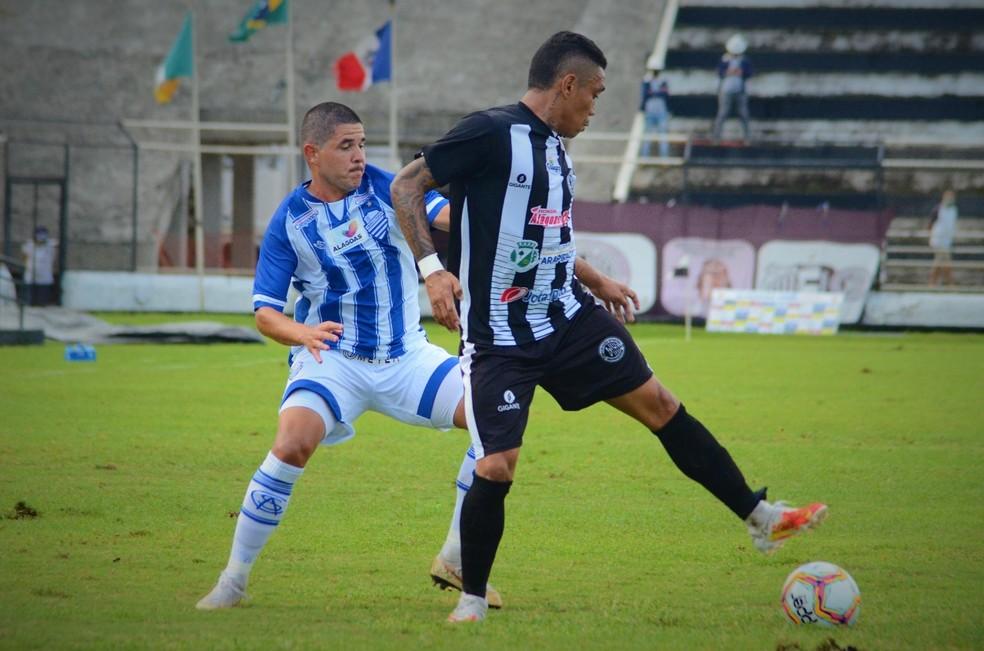 ASA vence o CSA por 2 a 0 na volta do Alagoano — Foto: Augusto Oliveira/CSA