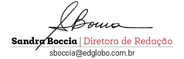 assinatura sandra diretora (Foto: d)