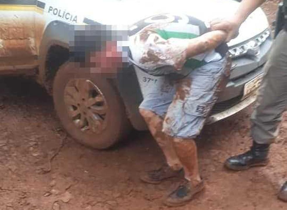 Presos foram localizados na manhã deste sábado no interior de Erval Seco — Foto: Divulgação/Rádio Fortaleza