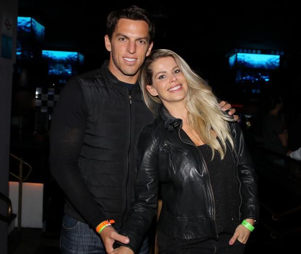 Karina Bacchi e Amaury Nunes (Foto: Thiago Duran/AgNews)
