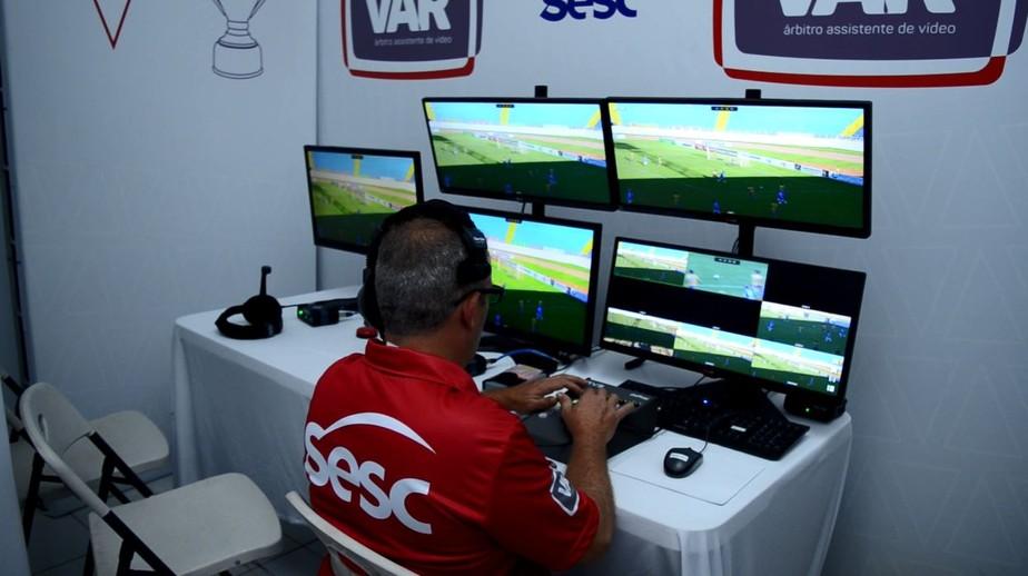 28490765a6 ... VAR é homologado para ser utilizado pela primeira vez na história do  Mineiro