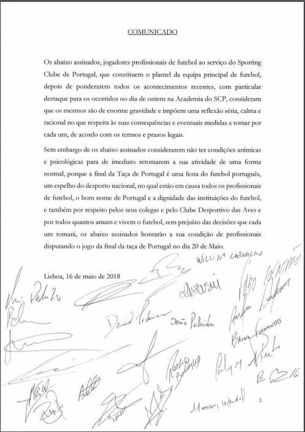 Elenco do Sporting registraram queixas após as agressões. Time só voltará a  treinar na sexta 3226ab102f074