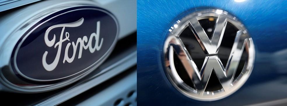 Volkswagen e Ford estudam aliança para ganhar competitividade (Foto: Ford/Divulgação/Axel Schmidt/Reuters)