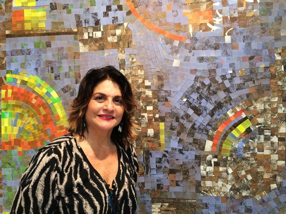 """Exposição """"Resquícios de Nós"""" da artista plástica Thina Cunha. (Foto: Divulgação)"""