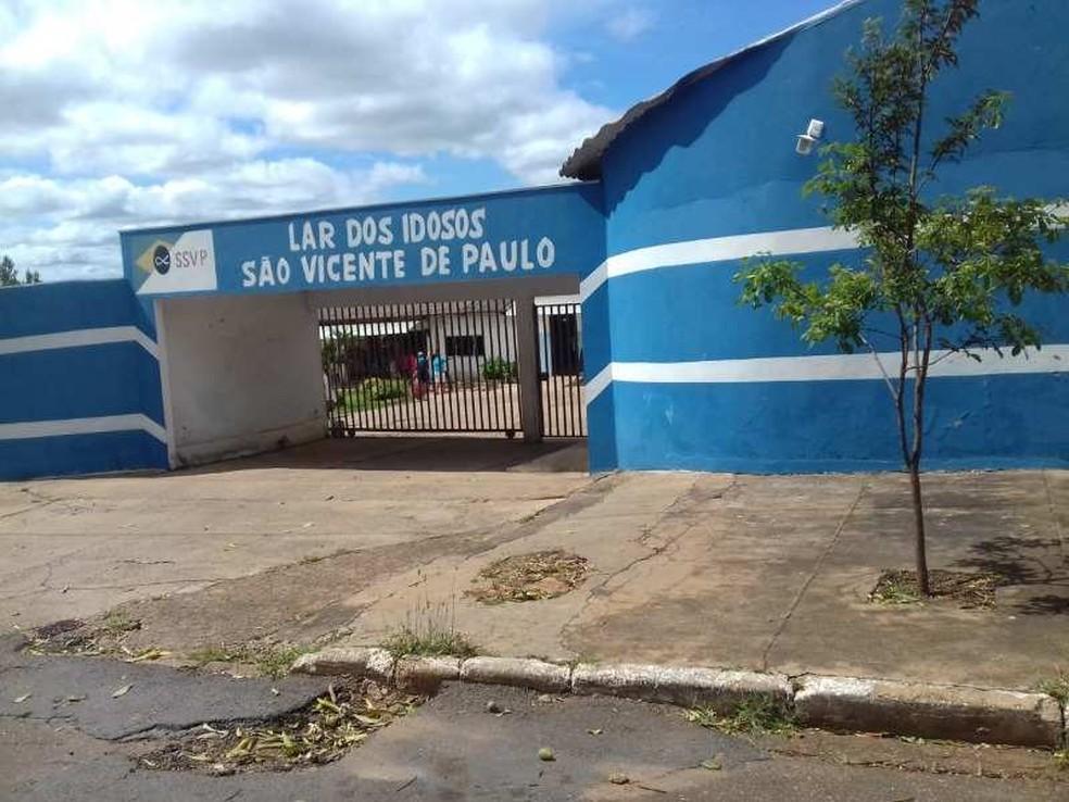 Lar dos Idosos São Vicente precisa de doações— Foto: Divulgação