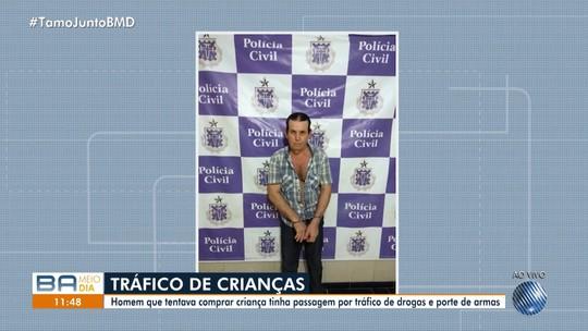 Suspeito de negociar com mãe compra de garoto de 12 anos na Bahia nega participação em esquema