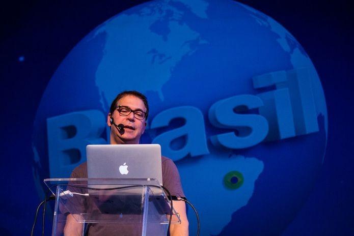 Diretor do primeiro Tomb Rider fez críticas ao mercado brasileiro de jogos (Foto: Campus Party Brasil/Divulgação)