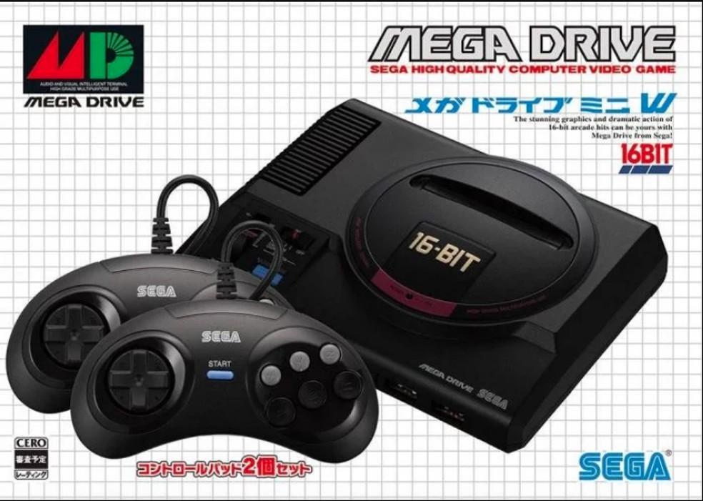 Mega Drive Mini será lançado no Japão e EUA, mas se chamará Sega Genesis Mini — Foto: Divulgação/SEGA