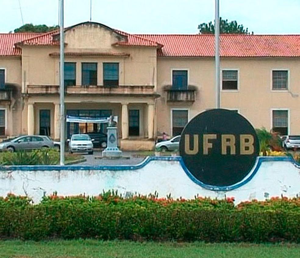 Universidade Federal do Recôncavo da Bahia — Foto: Reprodução/ TV Subaé