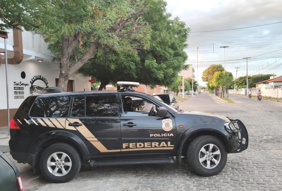 Operação da PF Godela II cumpre mandados em três cidades do RN — Foto: PF/Divulgação