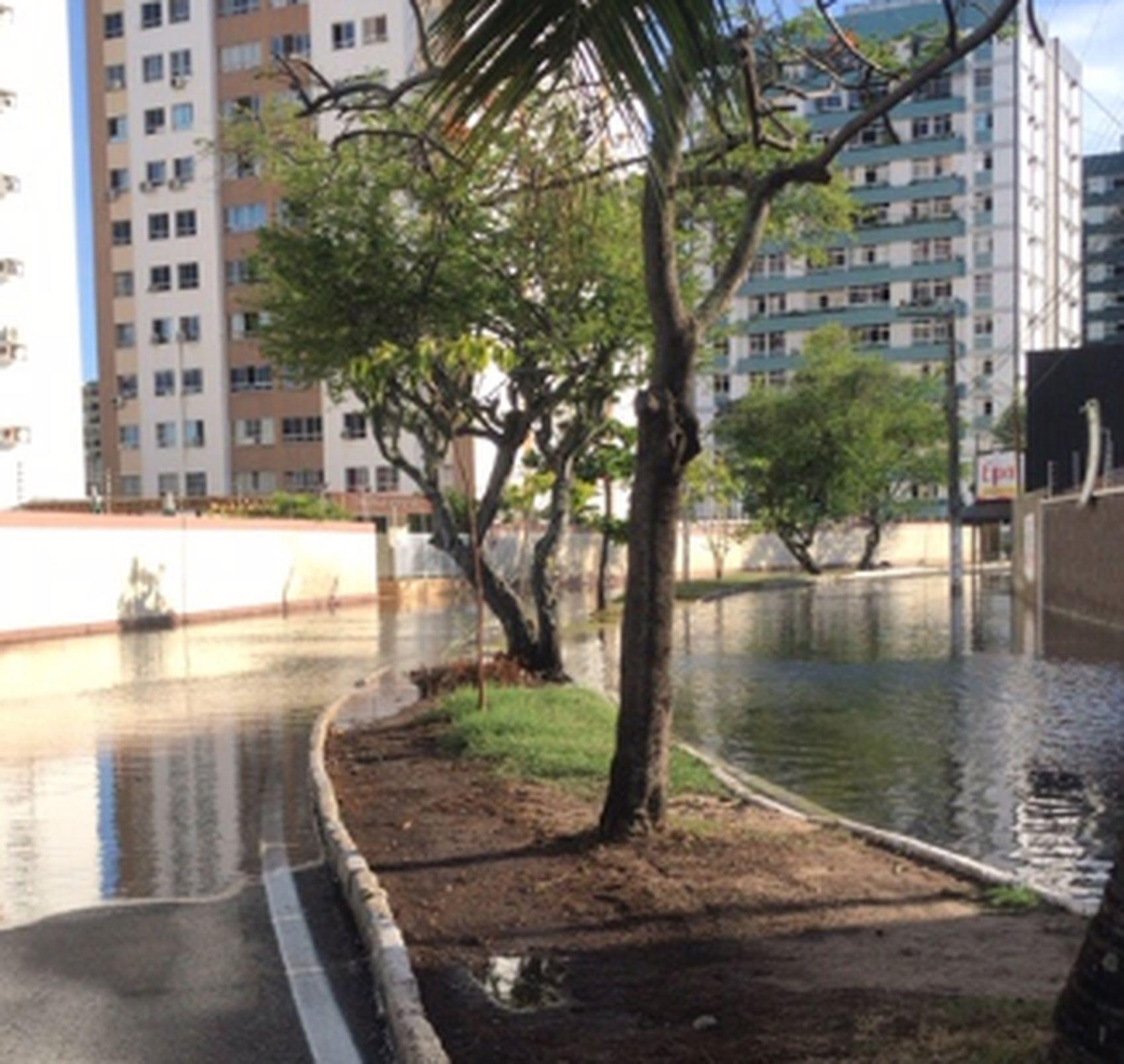 Defesa Civil de Aracaju emite alerta de maré alta