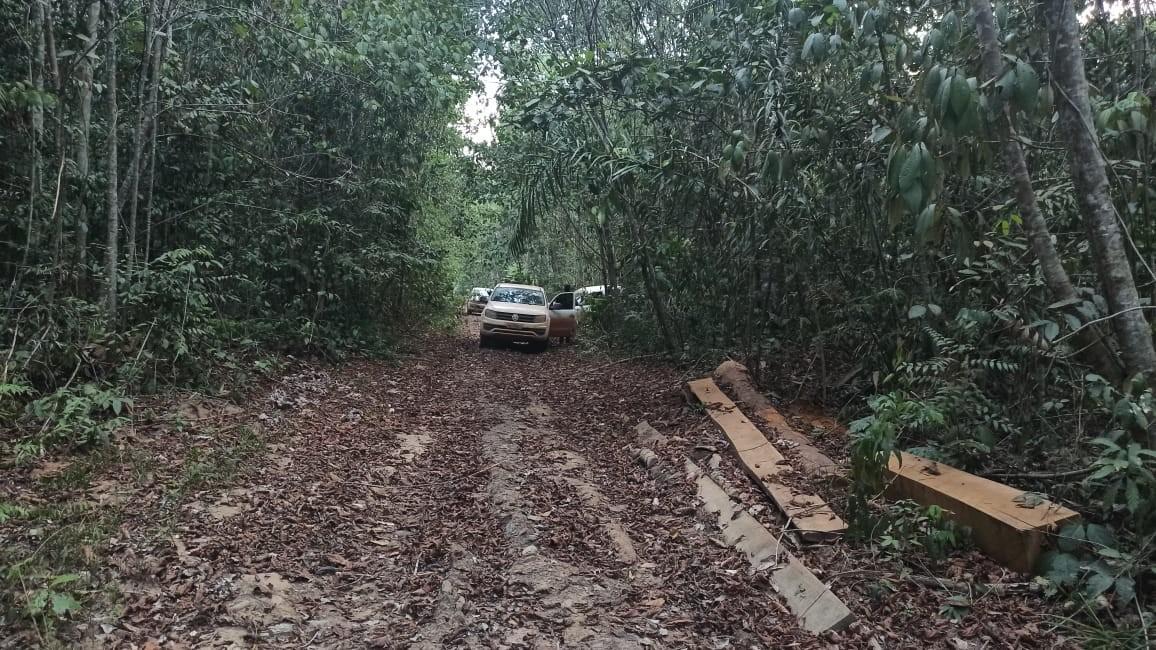 Mais de 1 tonelada de pasta base de cocaína é apreendida em região de fronteira com a Bolívia