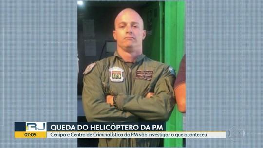Vai ser enterrado sargento morto em queda de helicóptero da PM