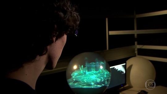 Realidade virtual ganha nova dimensão com TV de tela esférica