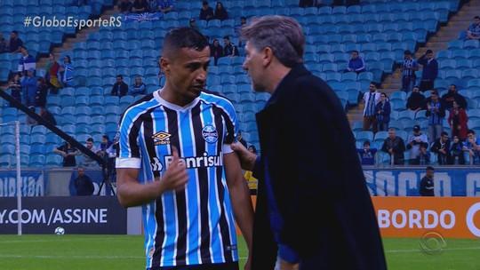 """Após jogo """"perfeito"""", Cícero assume missão de manter padrão do Grêmio sem Maicon"""