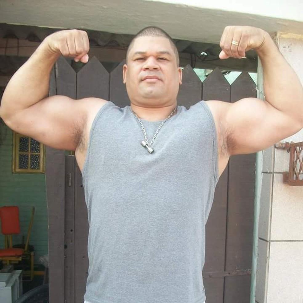 Superatleta do litoral paulista foi diagnosticado com Covid-19. — Foto: Arquivo Pessoal/Alexandra Souza