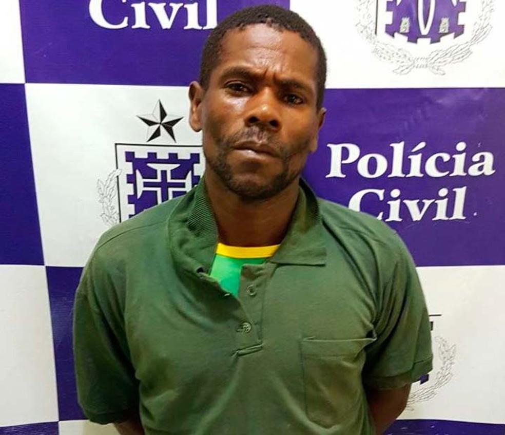 Lavrador preso suspeito de matar mulher que negou pedido de namoro na Bahia (Foto: Divulgação/Polícia Civil)