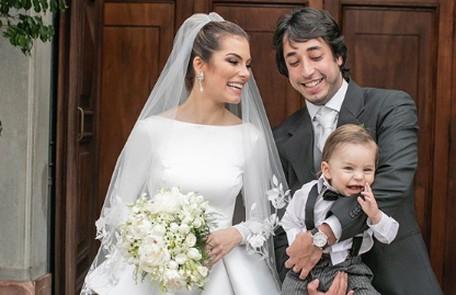 Eles se casaram em 2018 Reprodução