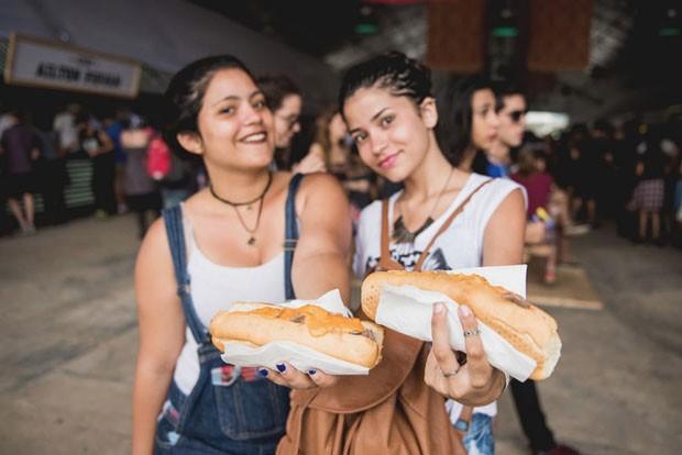 De paella a estrogonofe o que comer no Lollapalooza 2018 (Foto: Divulgação)