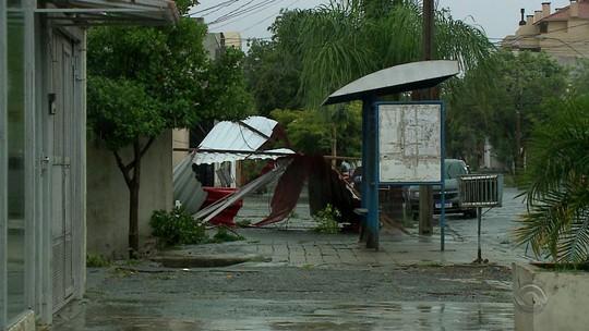 Chuva causa transtornos em cidades da Fronteira Oeste e Região da Campanha do RS