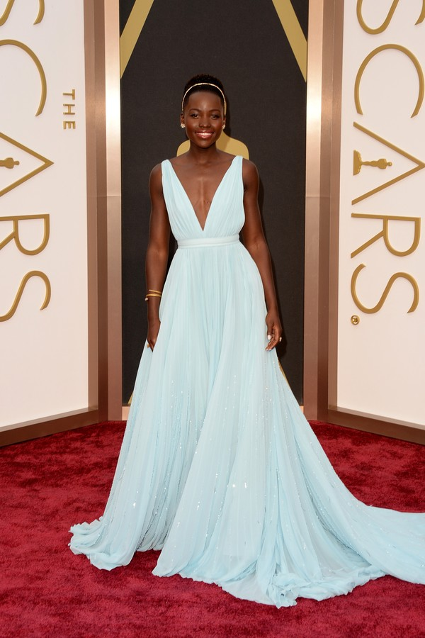 Lupita Nyong'o no Oscar (Foto: Getty Images)