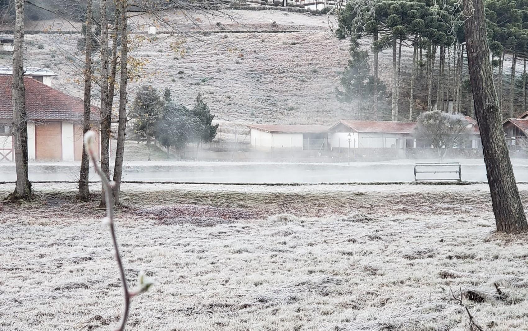 Com -4,5°C, Monte Verde, distrito de Camanducaia (MG), tem a menor temperatura oficial já registrada pelo Inmet